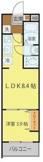 D1タイプ(3、6号室東向き1LDK).jpg